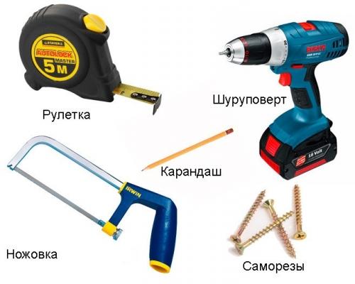 Инструменты для изготовления кровати своими руками
