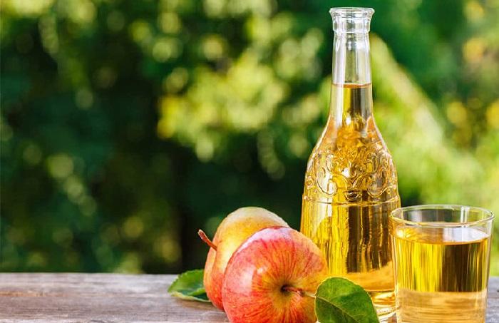 Giấm táo làm giảm triệu chứng viêm âm đạo