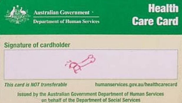 Health Care Card Centrelink Jared Hyams '.