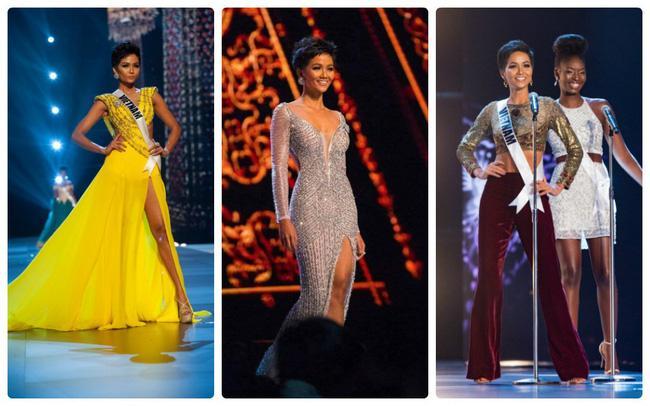 Ngắm những bộ trang phục giúp H'Hen Niê làm nên kỳ tích tại Miss Universe  2018 | VTV.VN