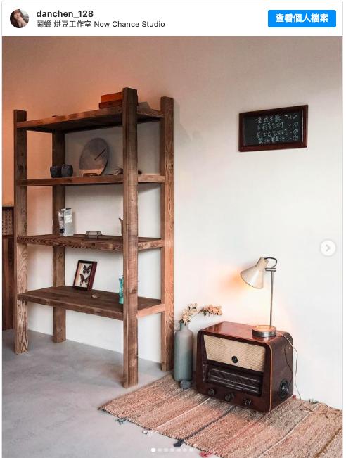 位於永和的咖啡廳 鬧蟬烘豆工作室,環境復古,蛋糕與咖啡也很棒