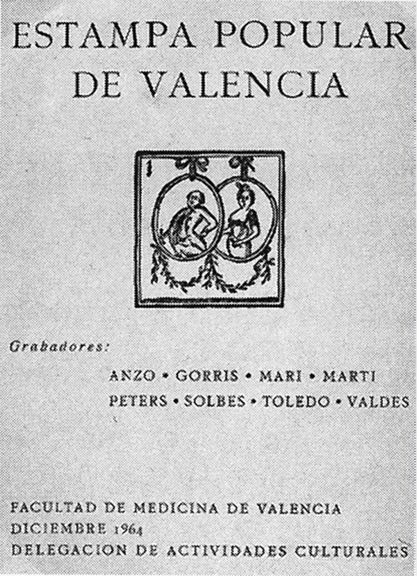 Resultado de imagen de estampa popular valencia