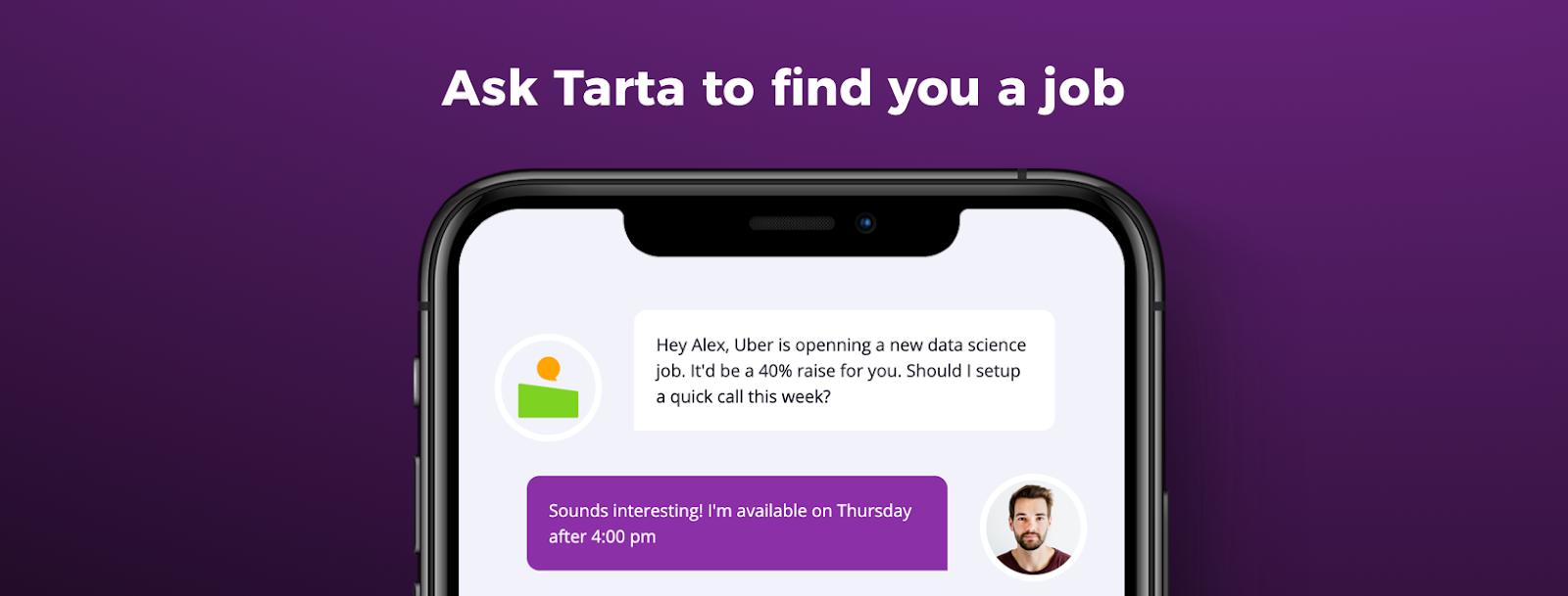 Tarta AI's promotional banner
