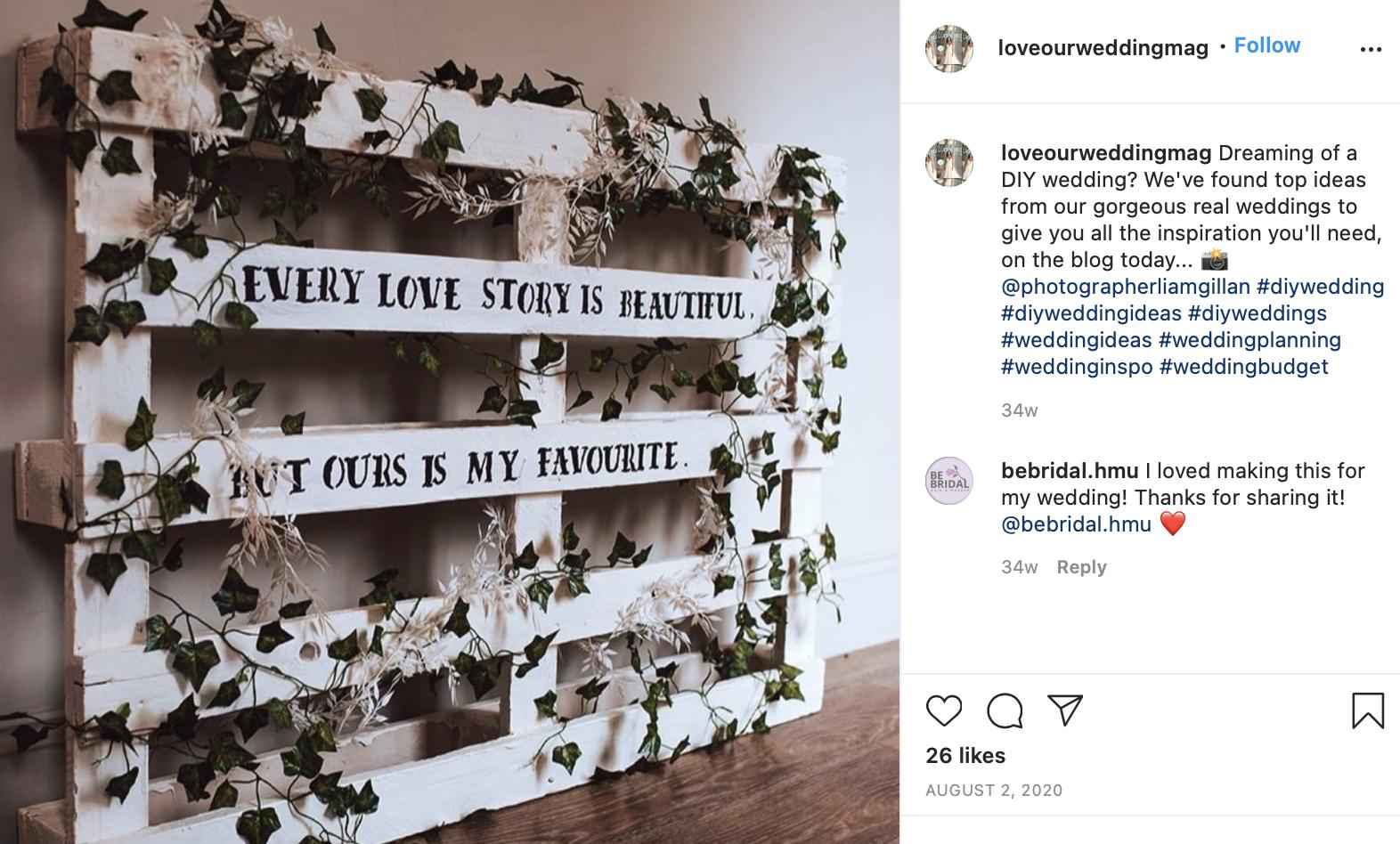 DIY wedding trend