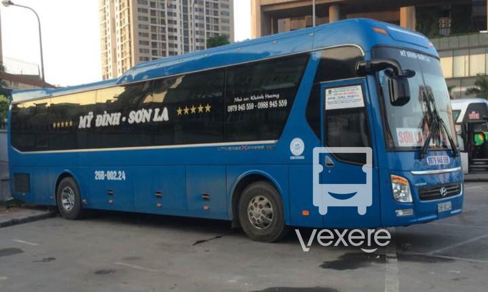 Xe Khánh Hương từ Hà Nội đi Sơn La