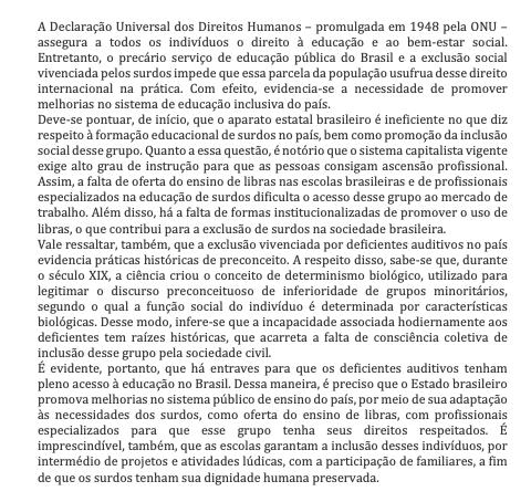 Texto dissertativo pronto sobre educação