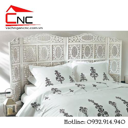 Ý tưởng trang trí phòng ngủ bằng vách ngăn cnc hiện đại, giá rẻ