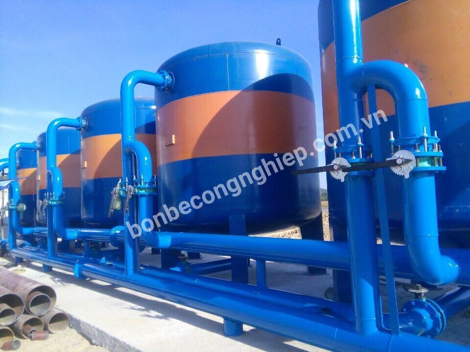 Bồn bể xử lý nước thải sinh hoạt