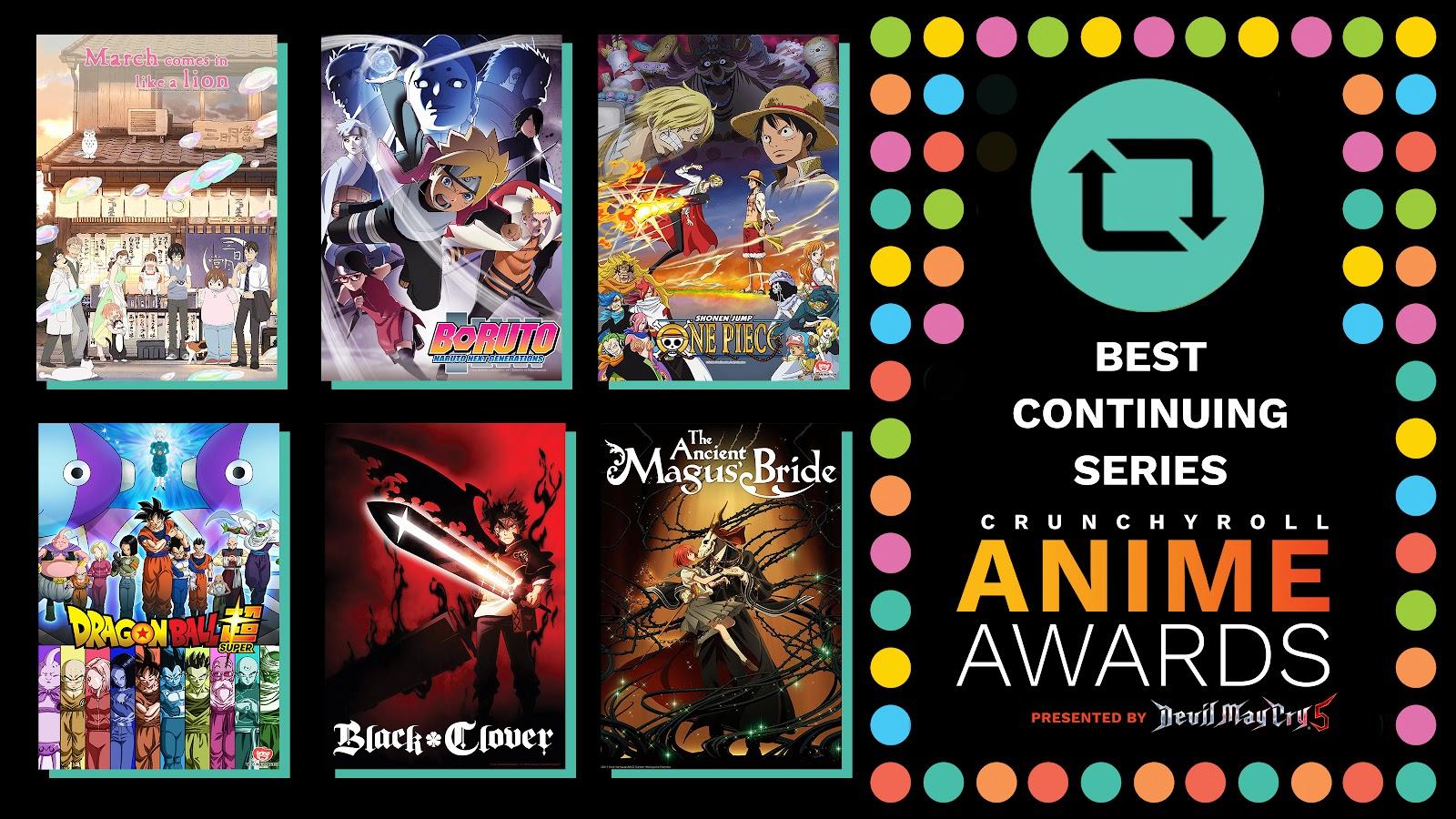 Crunchyroll Meet The Nominees For The 2018 Anime Awards