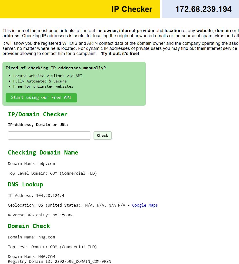 8 Best Website IP Checker Tools 5