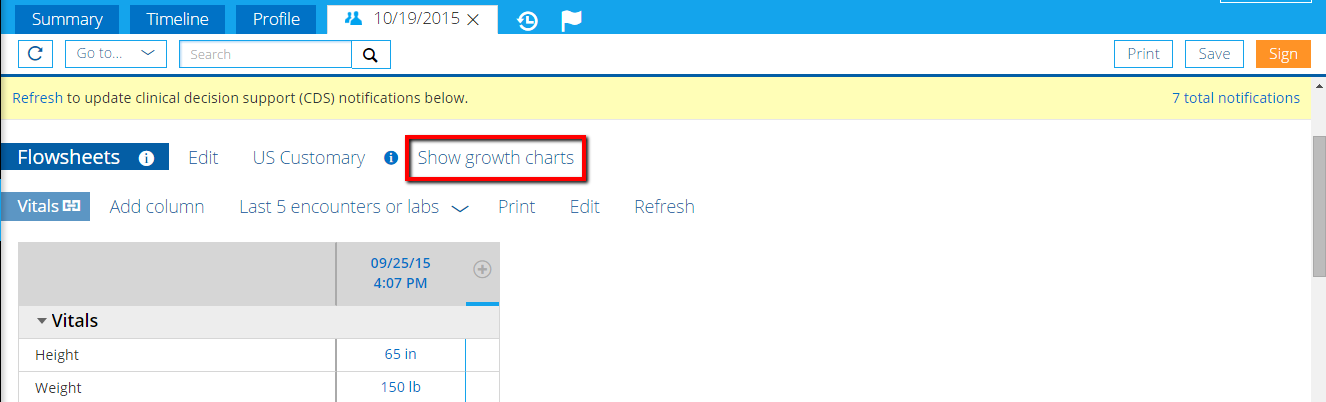 How Do I Use The Growth Charts Knowledge Base