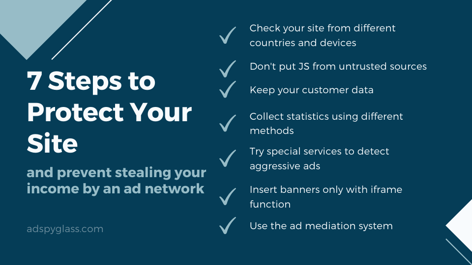 7 Steps to Keep Your Site Safe