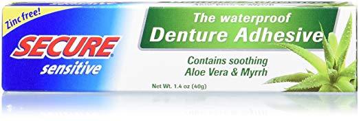image of SECURE Sensitive denture adhesive