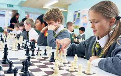 Занятия шахматами в группе