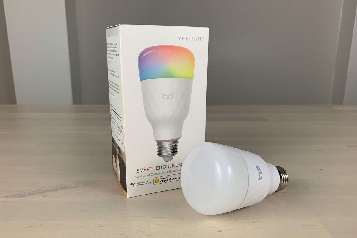Yeelight Smart LED Bulb 1S (Color) review: