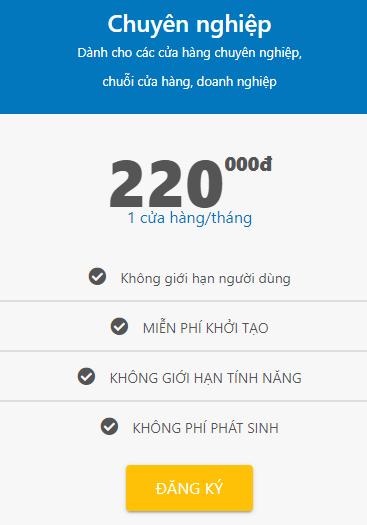 Phần mềm quản lý bán hàng suno.vn