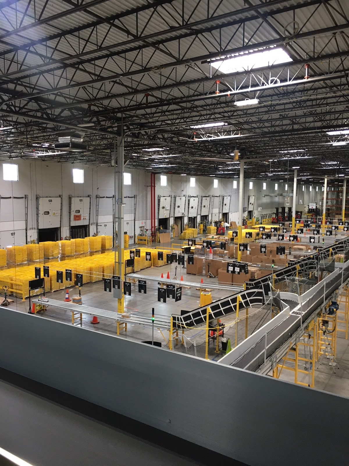 Inside the CHA1 Amazon Facility