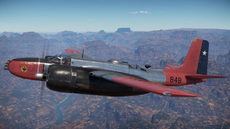 Douglas TB-26 B Invader