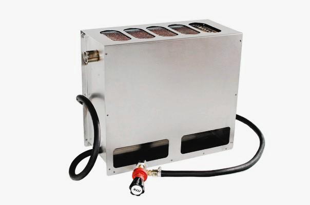 Газовый водонагреватель для нагрева воды в бассейне