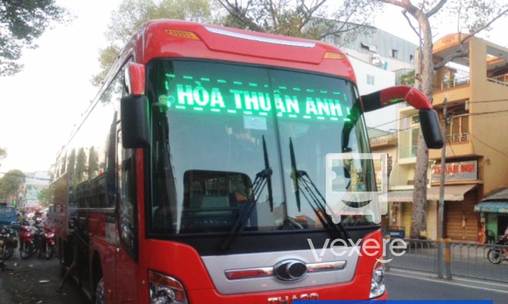 Xe Hòa Thuận Anh từ Sài Gòn đi Cam Ranh