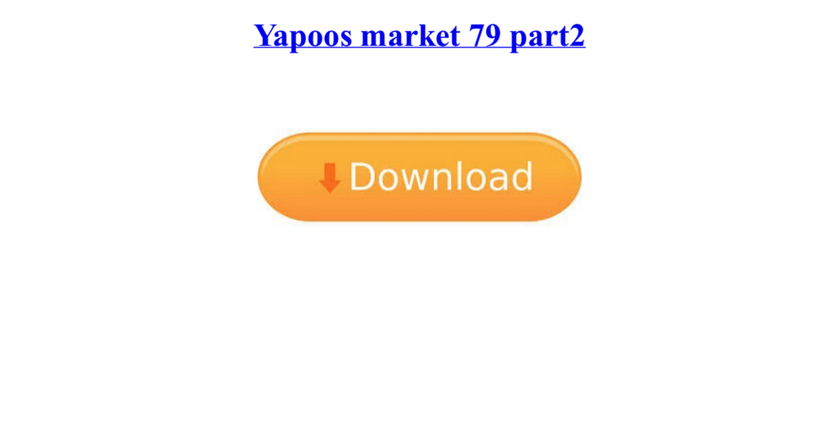 yapoos market 79 part2