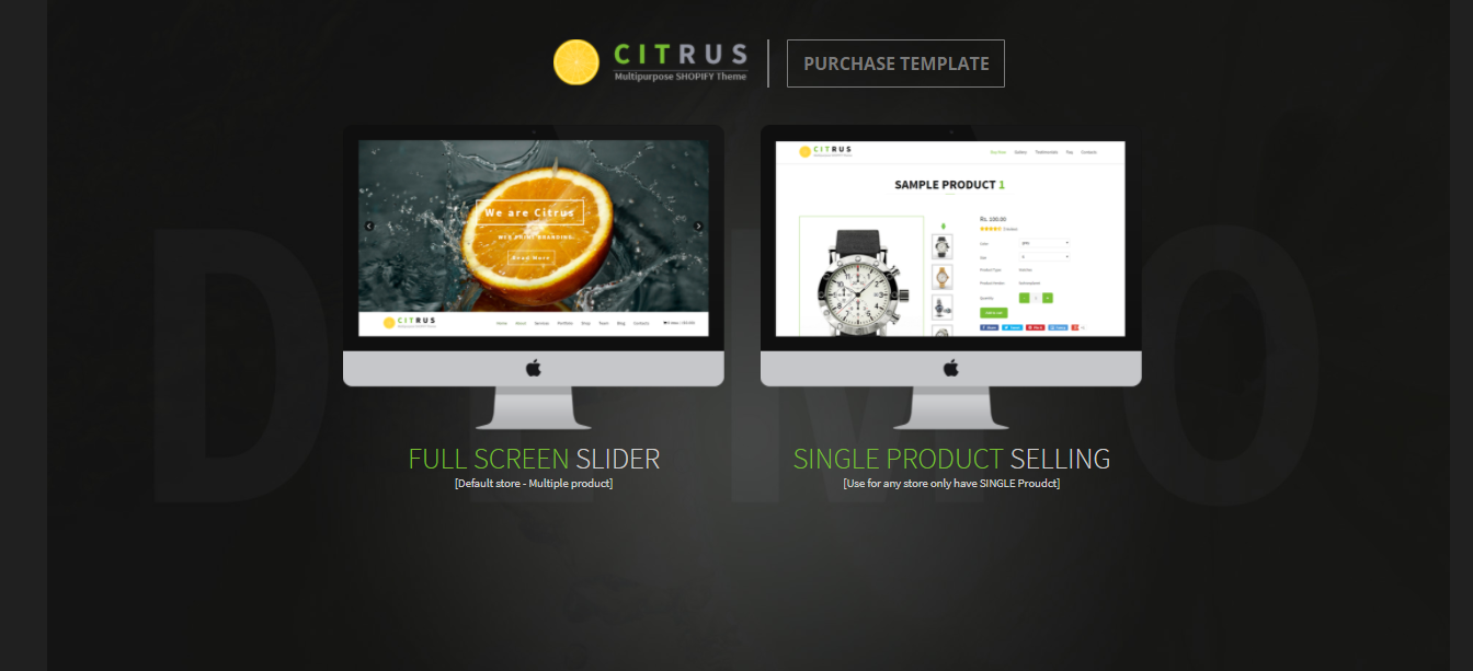 Citrus - Crafts Shopify Theme