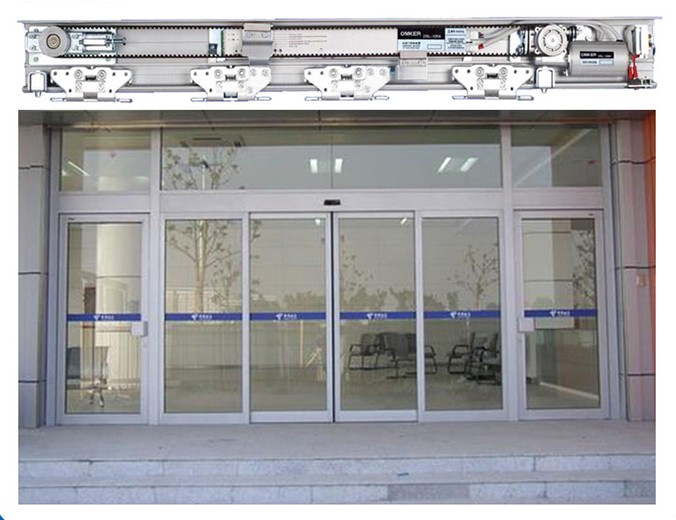 Sử dụng cửa tự động để mang lại sự an toàn cho những công sở đông người