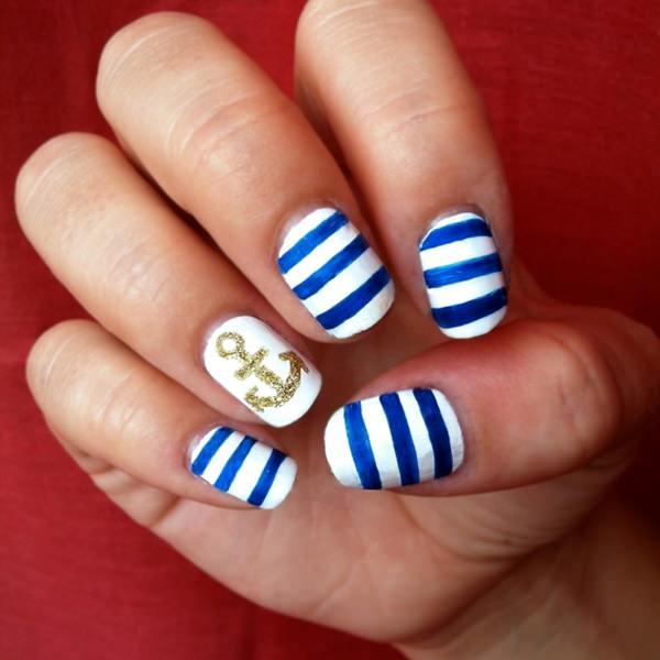 cute nail designs creem (8)