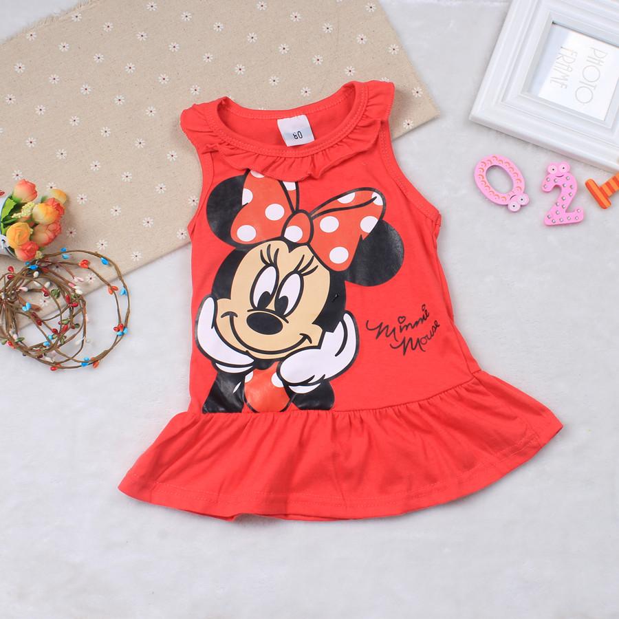 Sukienki dla dziewczynek z Myszką Miki
