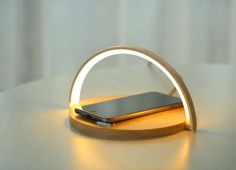 wireless charging lamp