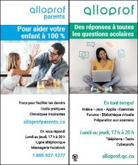 Feuillets Alloprof en français - Tous les publics, sauf les élèves