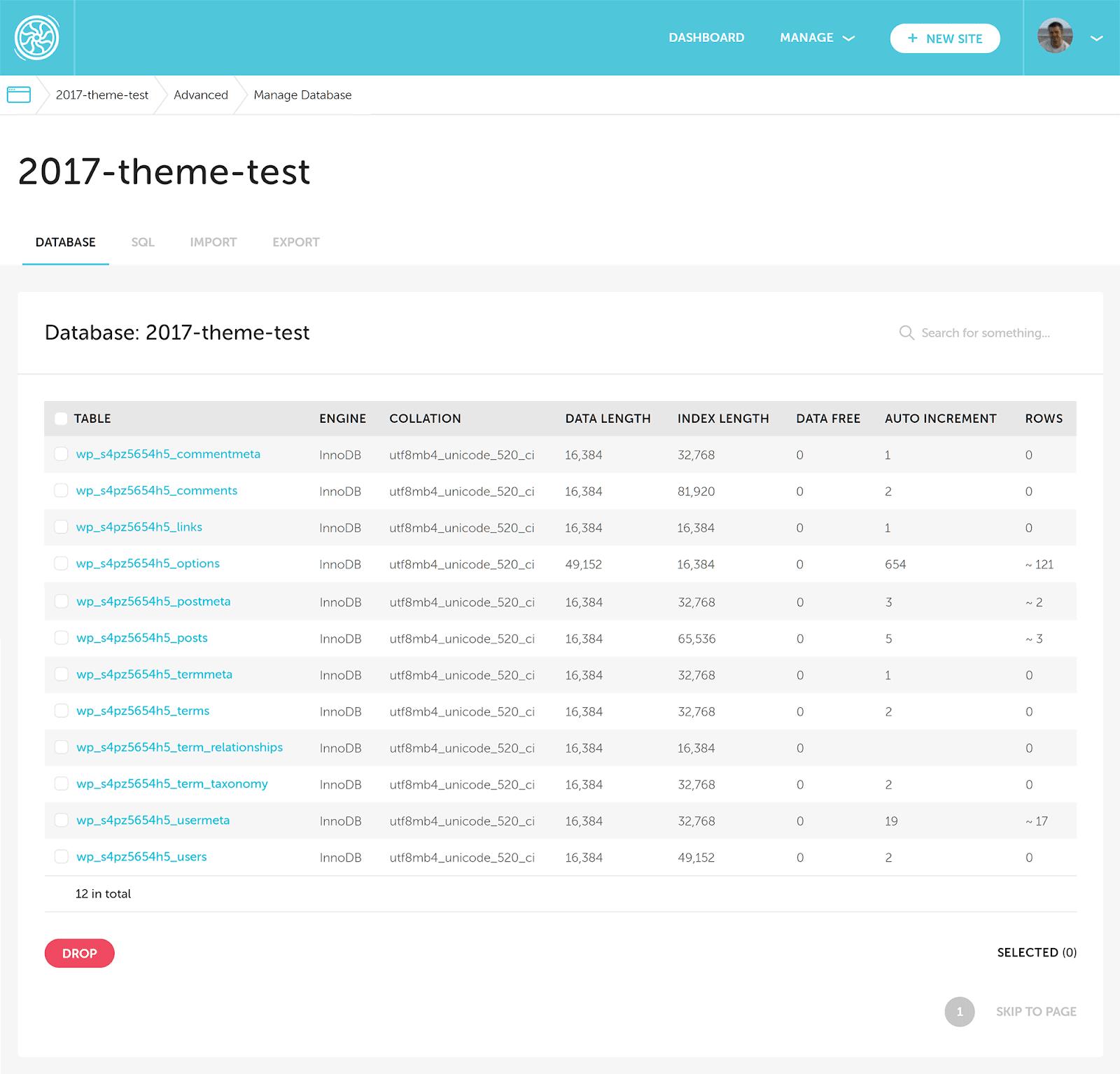 Truy cập cơ sở dữ liệu trang web