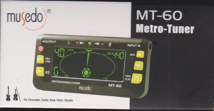 مترونوم و تیونر و دیاپازون MT 60