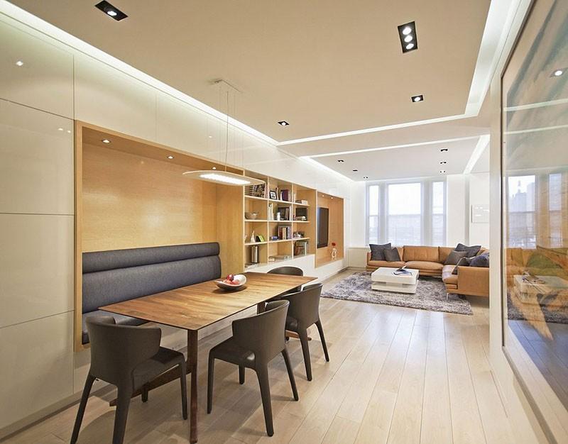 Không gian rộng hơn với thiết kế gạch ốp tường