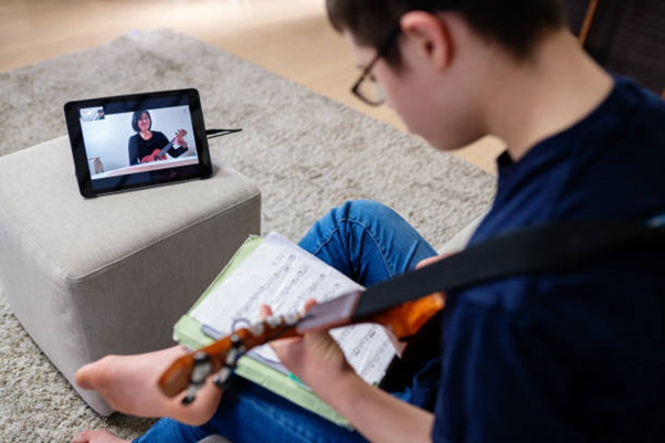 how to teach music online
