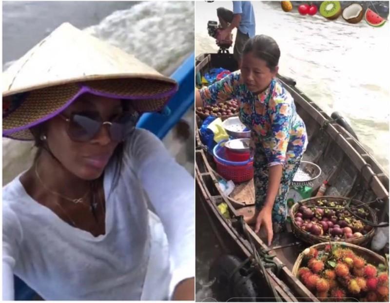 Naomi Campbell liên tục khoe ảnh ở  Việt Nam - ảnh 4