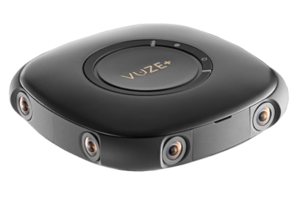 Máy ảnh VR Vuze Plus với 8 ống kính xung quanh