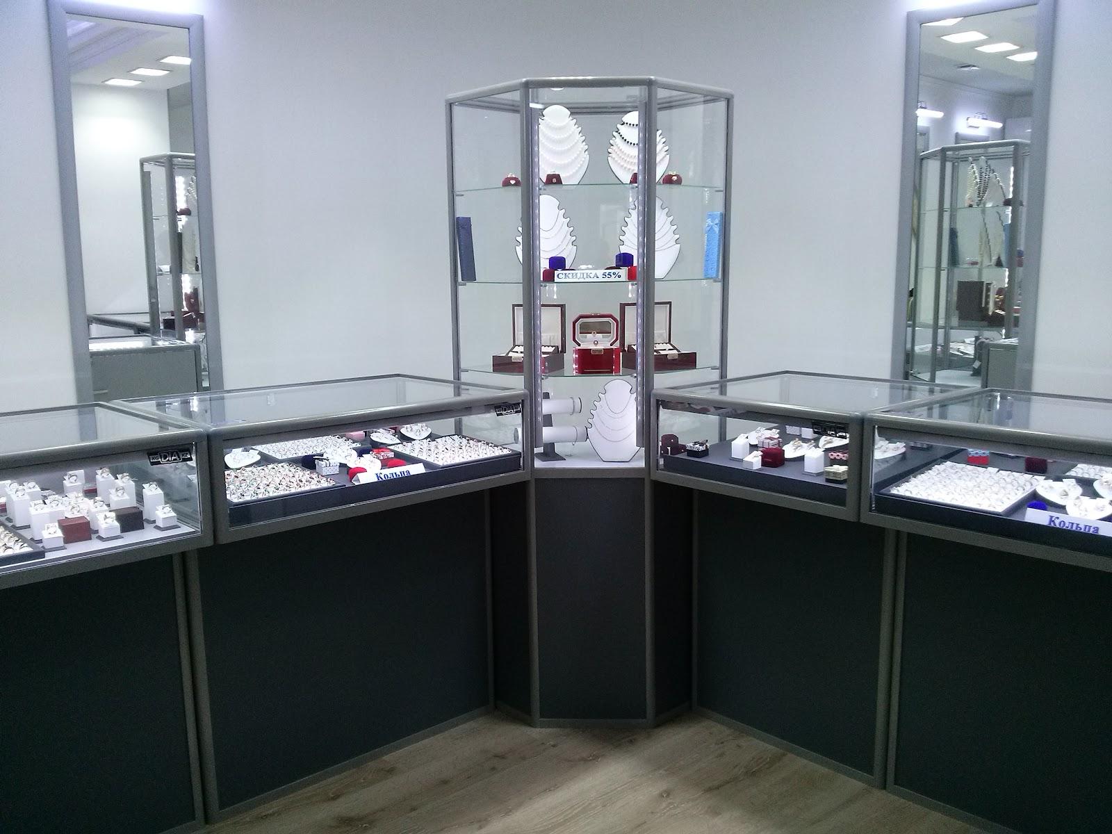 DiA торговое оборудование витрины и прилавки