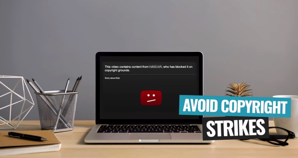 Make sure you can legally use each track to avoid copyright strikes on your YouTube channel