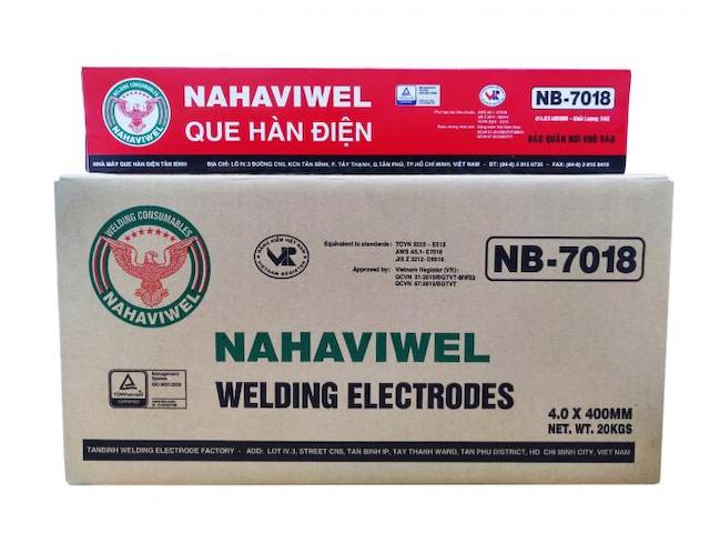 Để có mức giá giá que hàn nb-7018 cạnh tranh, bạn hãy đồng hành cùng NAHAVIWEL