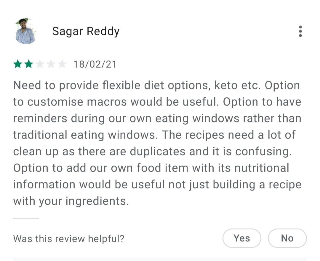 Fitness App Review
