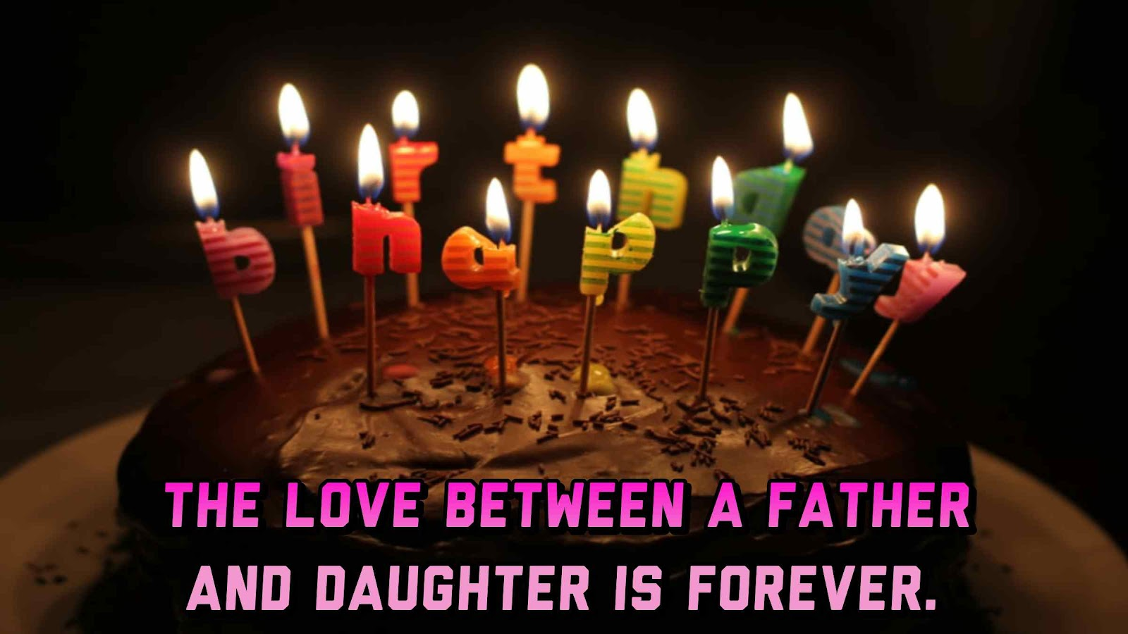Happy Birthday Images & Quotes From Daughter to Dad
