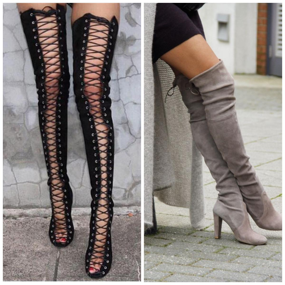 Suit Up Your Legs 5 Chic Ways To Wear Thigh High Hosiery