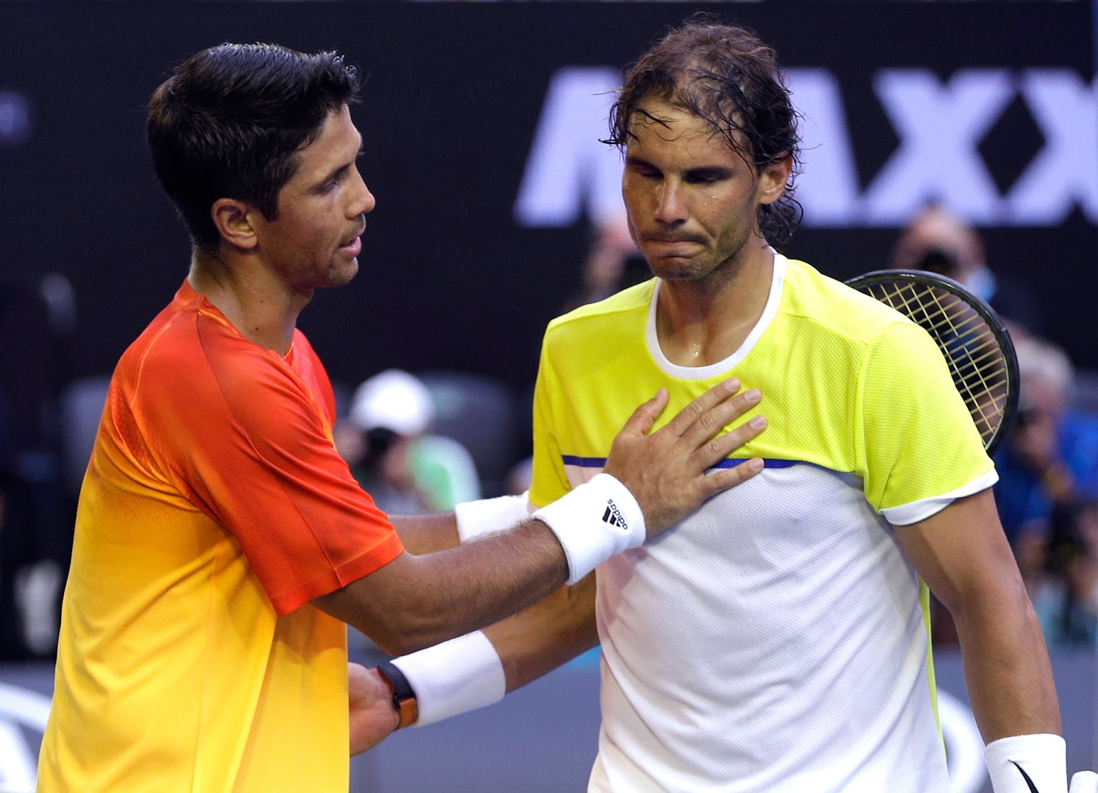 Fernando Verdasco eliminates Rafael Nadal
