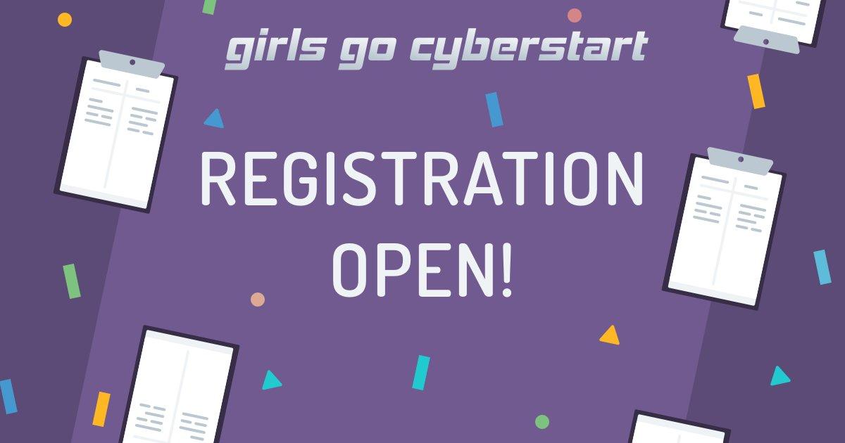 GG Cyberstart Registration Open Logo