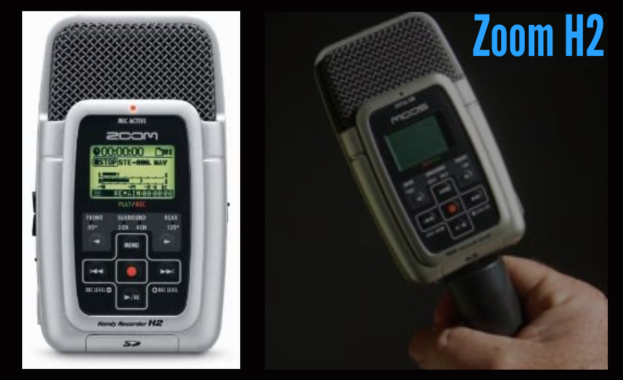 portable recorder for podcasting
