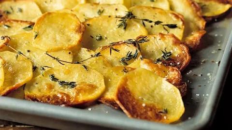 Кружочки картофеля в духовке