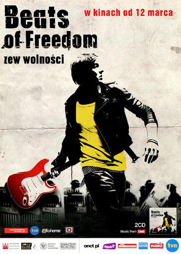 Przód ulotki filmu 'Beats Of Freedom - Zew Wolności'