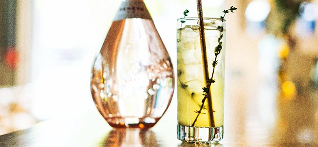 Glass of Geneva Blossom feat. Freeland Geneva Gin by Freeland Spirits