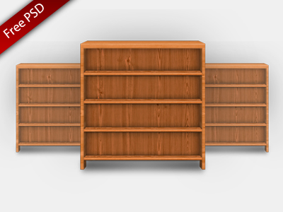 free-bookshelf-icon